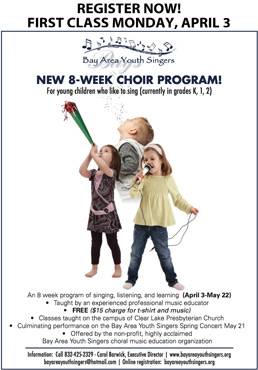 8-Week Choir Program brochure