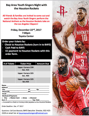 Rockets Brochure Preview