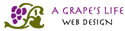 A Grape's Life Web Design