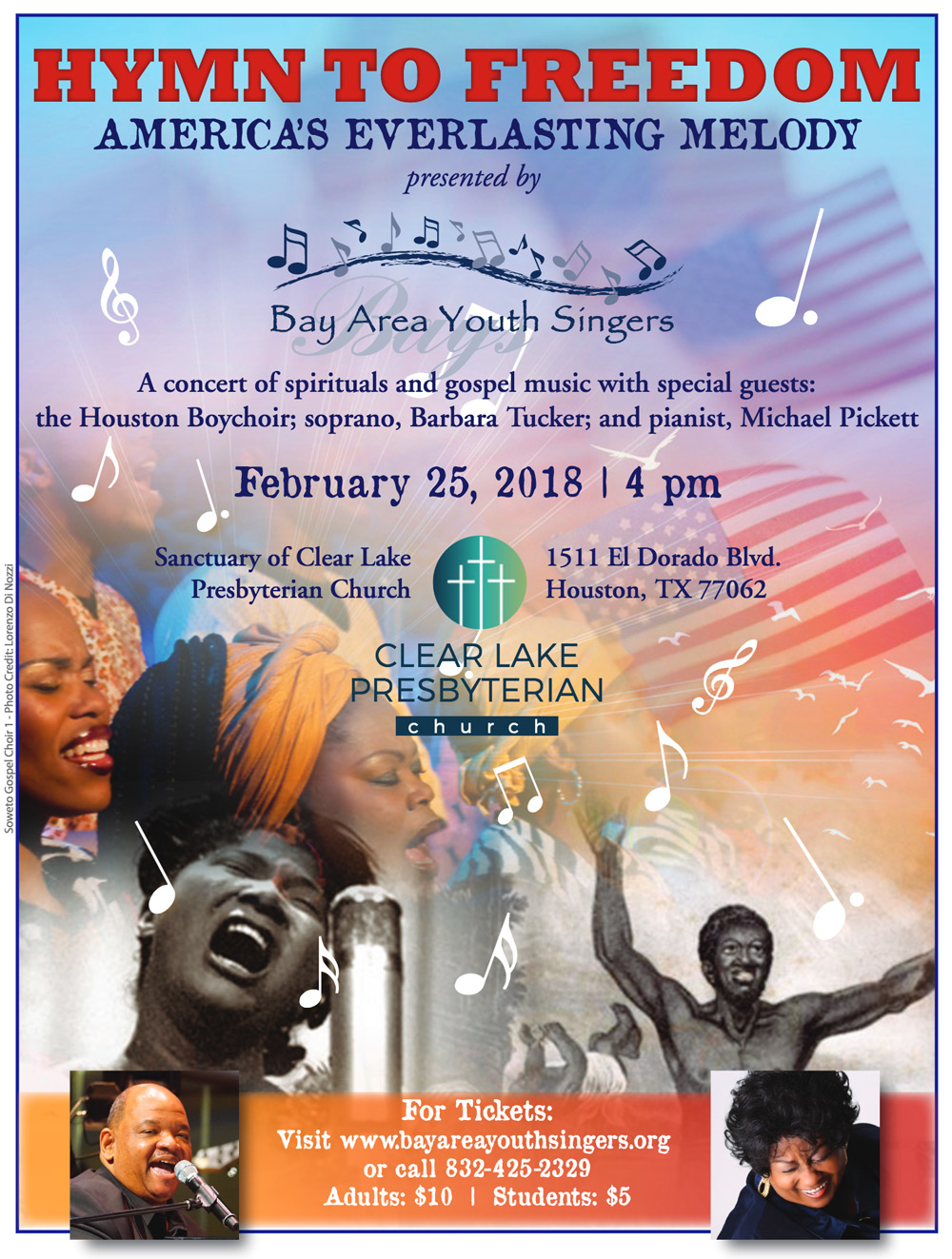 Hymn to Freedom Concert