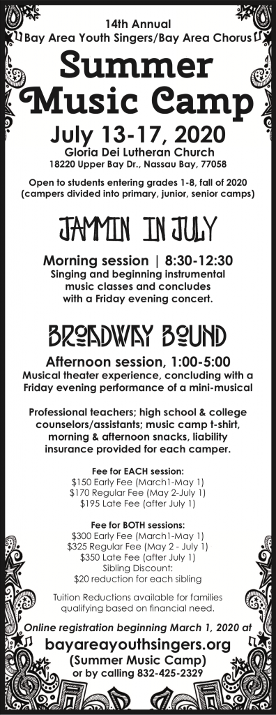 Music Camp Flyer